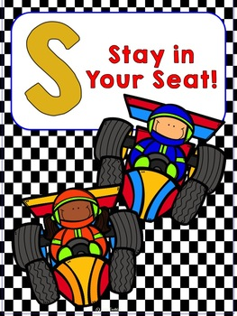 Racing Themed Rules Freebie for Your Classroom