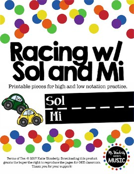 Racing Through Dictation: Sol and Mi