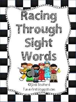 Racing Through Sight Word Fluency