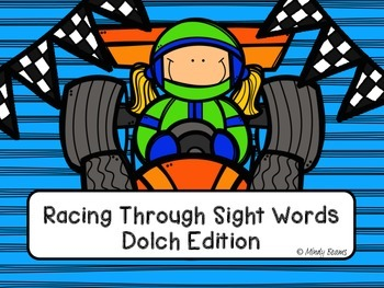 Dolch Sight Words - Racing Through Sight Words