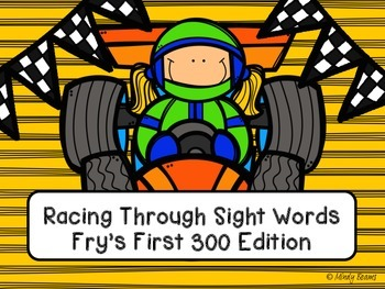 Fry's First 300 Sight Words - Racing Through Sight Words