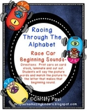 Racing Through The Alphabet Centers