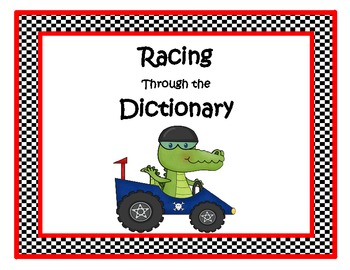 Racing Through the Dictionary!
