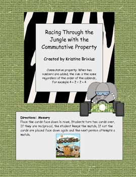 Racing Through the Jungle with the Commutative Property