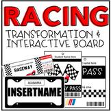 Racing Transformation and Interactive Board