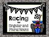 Racing for Singular and Plural Nouns