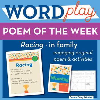 Racing - in Word Family Poem of the Week