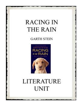 Racing in the Rain by Garth Stein Literature Unit