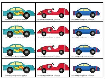 Racing through CVC words- Elkonin Boxes