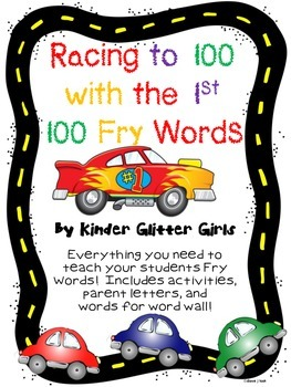 Racing to 100 with the 1st 100 Fry Words