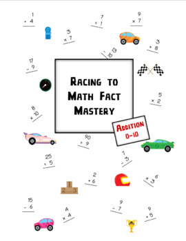 Racing to Math Fact Mastery: Addition 1-10