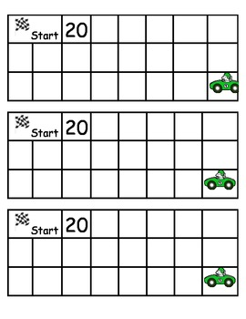 Racing to Write Number and Letters