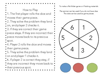 Racing to the Sum: Basic Facts and Doubles