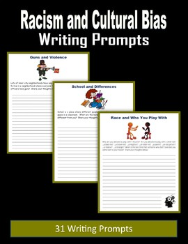 Racism and Cultural Bias Writing Prompts
