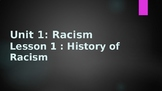Racism (introduction and History)