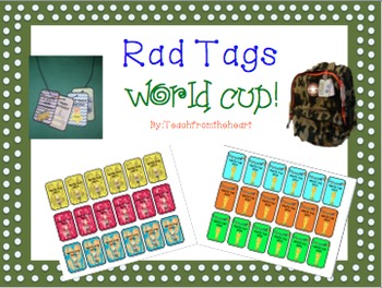 Rad Tags World Cup Edition (Classroom Management)
