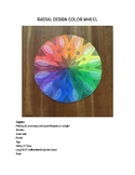 Radial Design Color Wheel