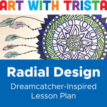 Radial Design Inspired by Dreamcatchers