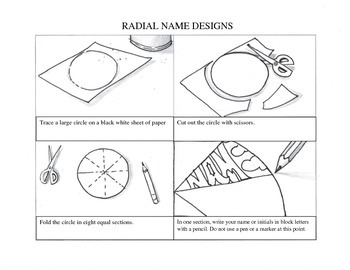 Radial Name Design Handout