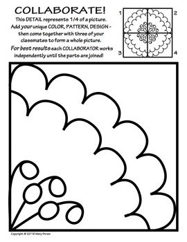 Cooperation Coloring Pages