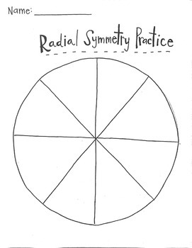 Radial Symmetry Worksheet