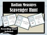 Radian Measures Scavenger Hunt