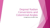 Radian and Degree Conversions