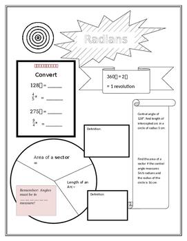 Radians, Sectors and Arcs