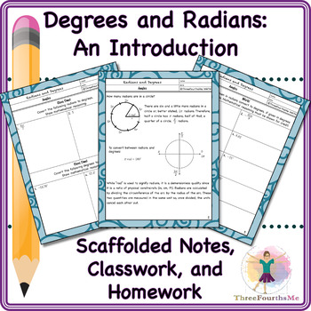 Radians and Degrees: An Introduction