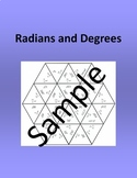 Radians and Degrees – Math puzzle