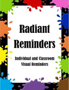 Radiant Reminders Visual Prompts