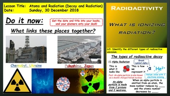 Radiation and Decay
