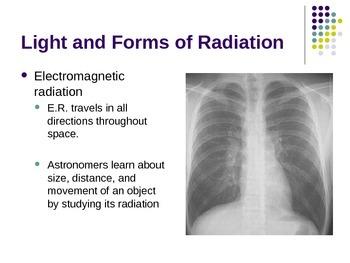 Radiation and Telescopes