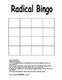 Radical Bingo - An Algebra Review