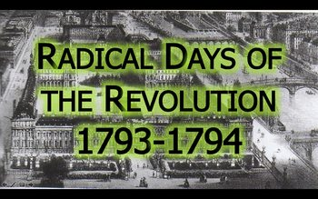 Radical Days of the French Revolution (Aligns with 18.3 in Pearson Hall)