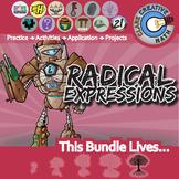 Radical Expressions -- Algebra 2 Curriculum -- Essential Unit Bundle