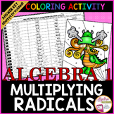 Multiplying Radicals with Variables Coloring Activity