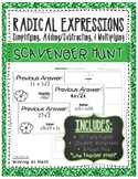 Radical Expressions: Simplifying, Adding/Subtracting, & Multiplying