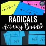 Radical Expressions and Equations Activity Bundle