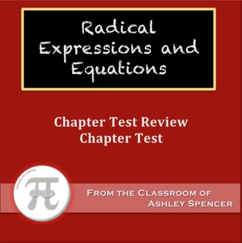 Radical Expressions and Equations Test