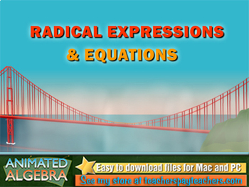 Radical Expressions & Equations - Lesson & Story Problem Videos