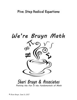 Radical - Five Step Equations