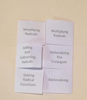 Radical Foldable