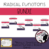 Radical Functions: All things Radicals Bundle PLUS Board Game