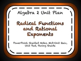 Radical Functions and Rational Exponents Unit