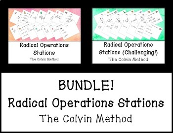 Radical Operations Stations BUNDLE