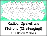 Radical Operations Stations (Challenging!)