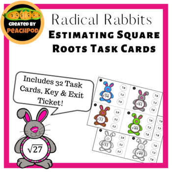 Radical Rabbits Task Cards and More!