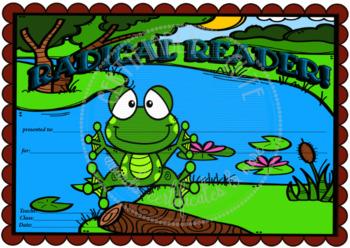 Radical Reader Frog