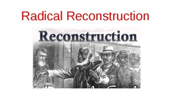 Radical Reconstruction Presentation